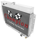 Champion Cooling Radiator EC289