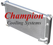 Champion Cooling Radiator EC478