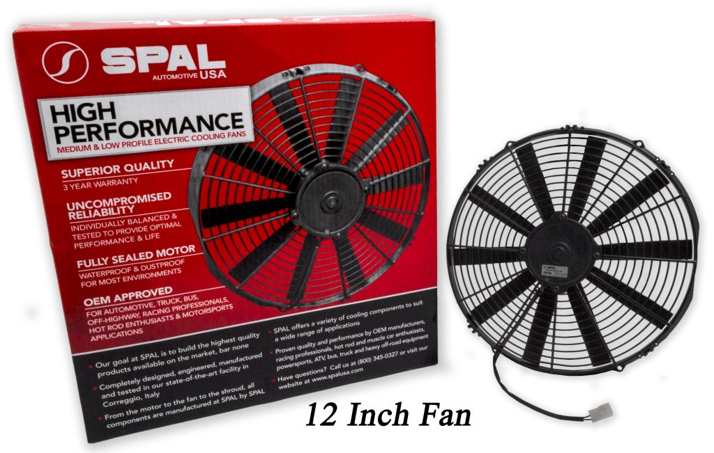 Spal Low Profile 11 U0026quot  Fan   Replaces Many 12 U0026quot  Fans