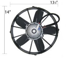 "12"" Hi-Performance Electric Fan"