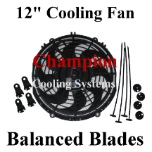 "12"" Electric Cooling Fan"
