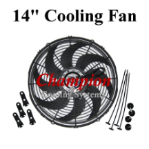 "14"" Electric Cooling Fan"