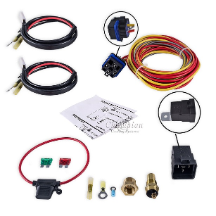 Deluxe Relay kit, Dual Fans (waterproof)