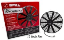 "SPAL Low Profile 11"" Fan : Replaces many 12"" fans"