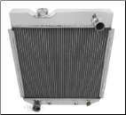 Universal Ford Radiator 16.38 x 17.25 Driver side Outlet
