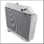 "F-Series Truck Radiator (68-79) 19"" tall core, Grill Side Mounting"