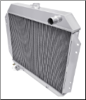 "F-Series Truck Radiator (68-79) 19"" tall core, Engine Side Mounting"