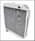"F-Series Truck Radiator (68-79) 24"" tall core E bracket engine face"