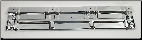 Radiator Support Panel 1973-1980 Chevy Truck (Chrome)