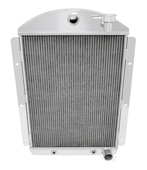 41 46 Chevrolet Truck 3 Row V8 Champion Radiator