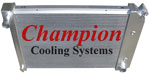 Champion Cooling Radiator EC571