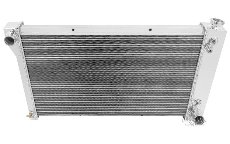 "Shroud two 14/"" Fans 1967-1972 Chevy Truck EC369 CC369 MC369 CHAMPION Radiator"