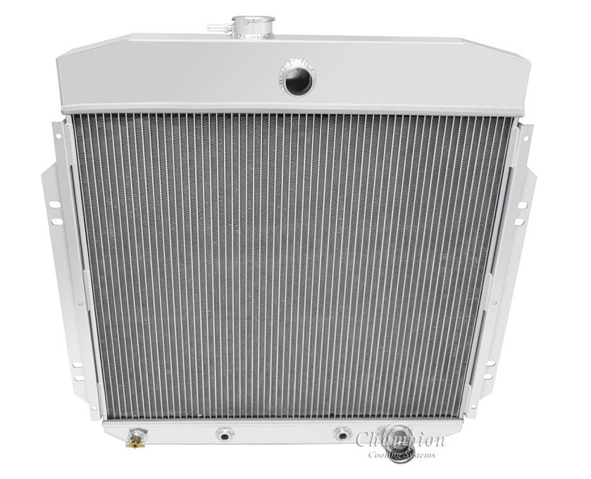 67-69 FORD MUSTANG//TORINO//LTD L6//V8 3-ROW TRI CORE FULL ALUMINUM RACING RADIATOR