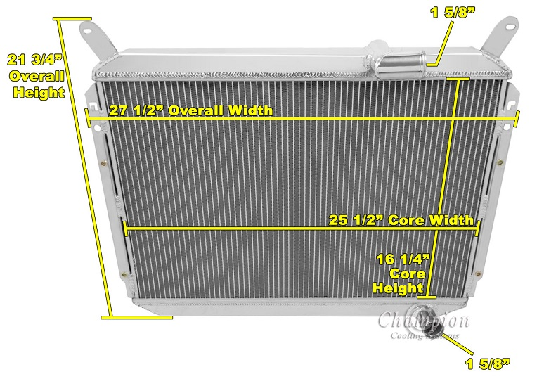 For Nissan 300ZX 1984-1989 All Aluminum 3 Rows Radiator 2X Fans